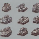 tanks sketches