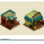 isometric Buildings (arabian)
