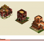 isometric Buildings (houses)