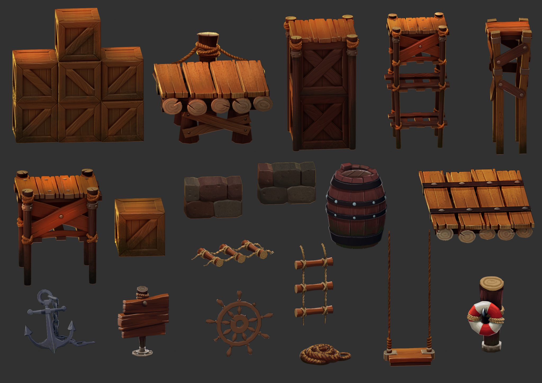 arabian game assets